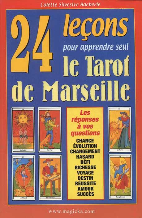 livre 24 leçons pour apprendre seul le Tarot de Marseille