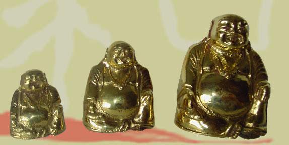bouddha en laiton doré