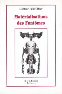 La Matérialisations des Fantômes livre