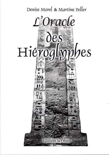 Oracle des Hiéroglyphes livre