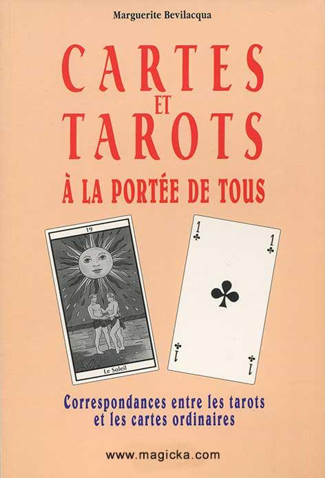 livre Cartes et Tarots à la portée de Tous