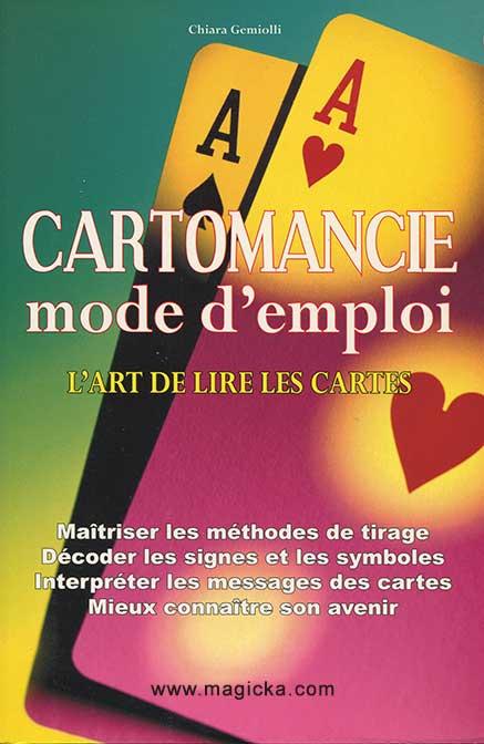 La Cartomancie - mode d'emploi livre