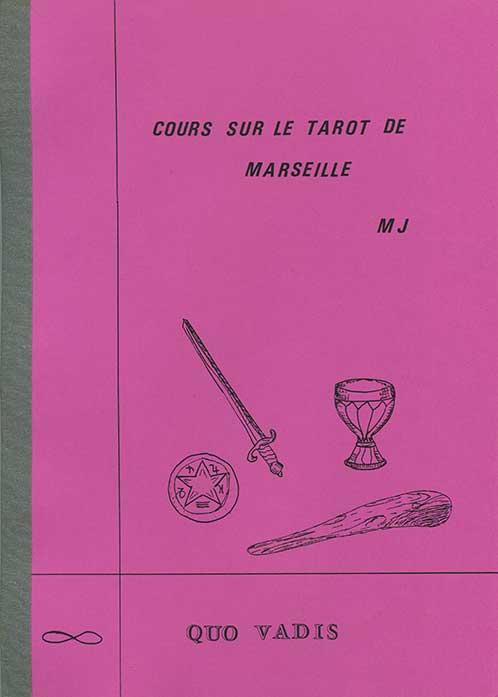 Cours sur le Tarot de Marseille livre