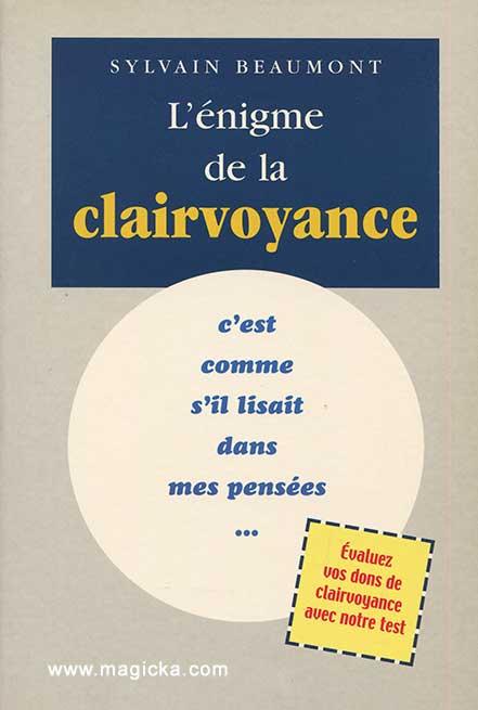 livre L'énigme de la clairvoyance