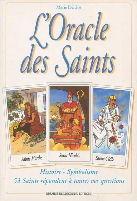 Oracle des Saints livre