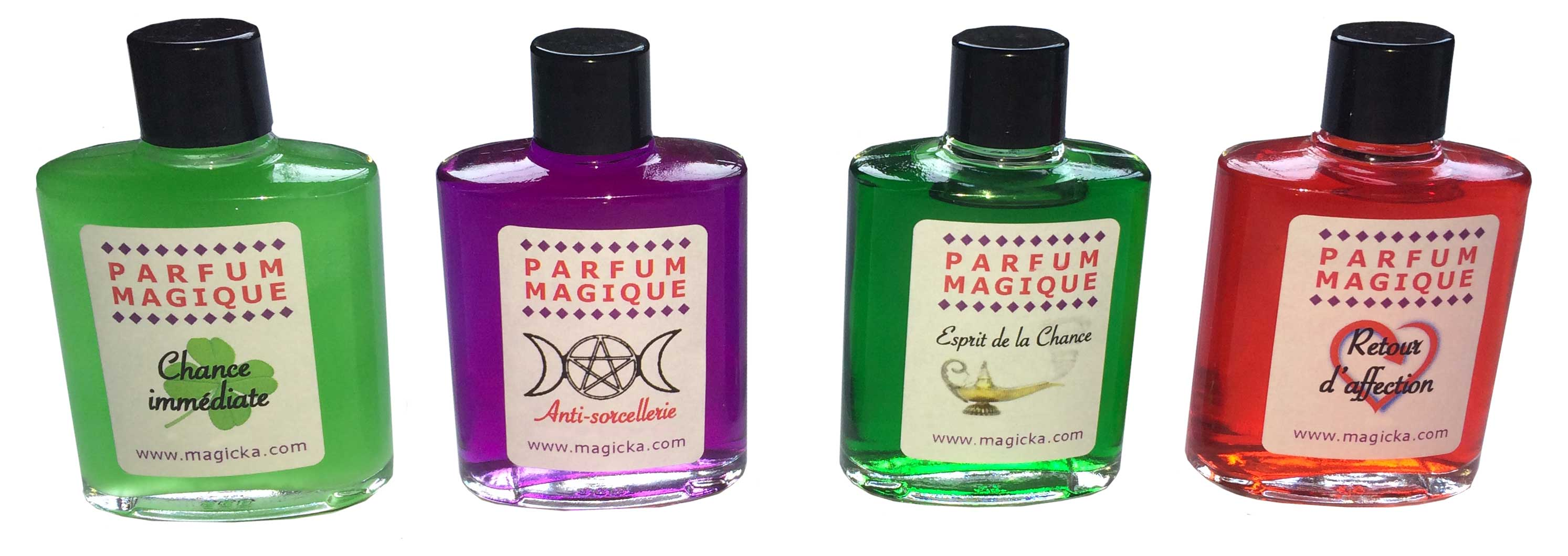Favoriser La Chance parfum magique pour l'amour et lotions pour la protection et l