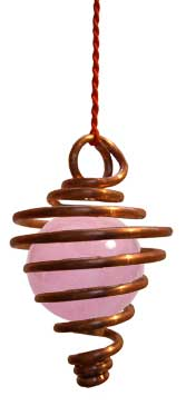 pendule micro vibratoire quartz rose